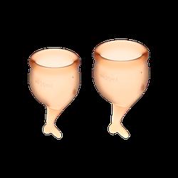 Менструальные чаши SATISFYER FEEL GOOD MENSTRUAL CUP ORANGE