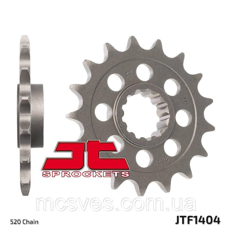 Звезда стальная передняя JT Sprockets JT JTF1404.16