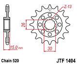 Звезда стальная передняя JT Sprockets JT JTF1404.16, фото 2