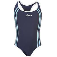 Плавательный купальник для девушек Asics Annette синий