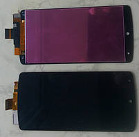 LG Nexus 5 D820 D821 дисплейний модуль в зборі з тачскріном чорний