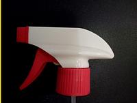 Распылитель курковый (триггер) 28/410, белый с красным /триггер 28/410 оптом