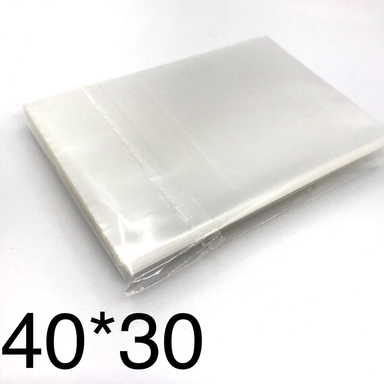 Поліпропіленовий пакет 40*30см