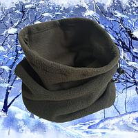 Зимний флисовый бафф маска балаклава