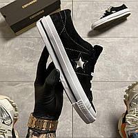 Converse One Star Premium Suede Black