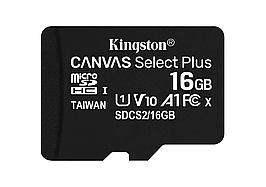 Kingston microSDHC Canvas Select Plus 16GB Class 10 UHS-1 А1 (без адаптера) (SDCS2/16GBSP)
