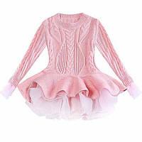 Нарядня сукня для дівчинки рожева