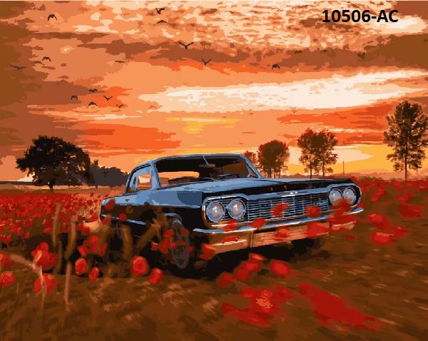 Картина по номерам «Дорога без меж» 10506-AC