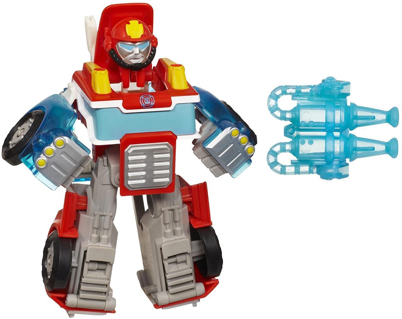 Трансформер Боты Спасатели Хитвейв Playskool Heroes Transformers Rescue Bots Energize Heatwave 15 см