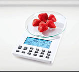 SILVERCREST Аналитические кухонные весы, белые 100315079-1, фото 2