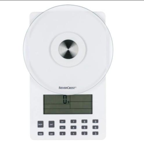 SILVERCREST Аналитические кухонные весы, белые 100315079-1