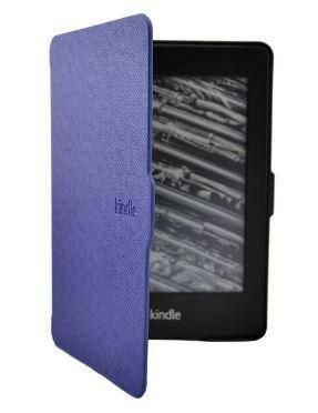 Чехол обложка для Amazon Kindle Paperwhite 2012 2013 2015 2016 DP75 EY21 автосон темно-синий, фото 2