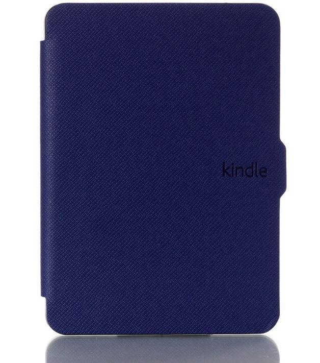 Чехол обложка для Amazon Kindle Paperwhite 2012 2013 2015 2016 DP75 EY21 автосон темно-синий