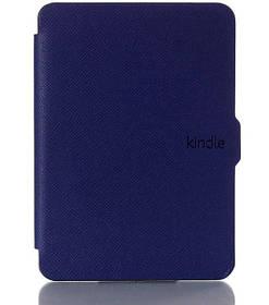 Чохол обкладинка для Amazon Kindle Paperwhite 2012 2013 2015 2016 DP75 EY21 автосон темно-синій