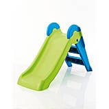 Дитяча гірка Keter Boogie Slide ( Without Base ) Light-Green with Turquoise ( світло/зелений бірюзовий ), фото 4