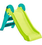 Дитяча гірка Keter Boogie Slide ( Without Base ) Light-Green with Turquoise ( світло/зелений бірюзовий ), фото 5