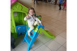 Дитяча гірка Keter Boogie Slide ( Without Base ) Light-Green with Turquoise ( світло/зелений бірюзовий ), фото 6
