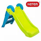 Дитяча гірка Keter Boogie Slide ( Without Base ) Light-Green with Turquoise ( світло/зелений бірюзовий ), фото 8