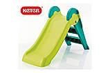 Дитяча гірка Keter Boogie Slide ( Without Base ) Light-Green with Turquoise ( світло/зелений бірюзовий ), фото 10