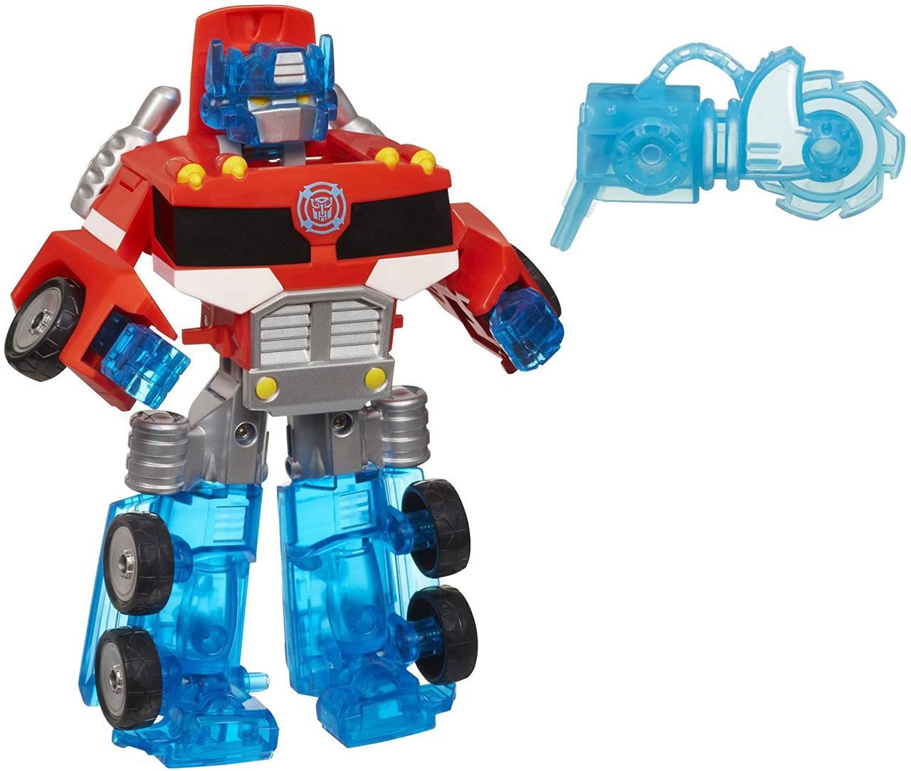 Трансформер Боты Спасатели Оптимус Прайм Playskool Heroes Transformers Rescue Bots Optimus Prime Figur