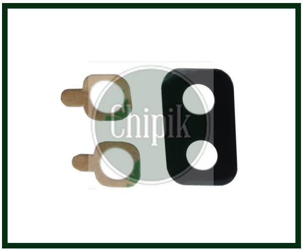 Стекло (окошко камеры) для Samsung A605, Galaxy A6+ 2018, черное