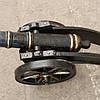 Чугунная пушка на  колесах ( вес -30 кг)