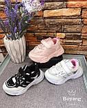 Кроссовки детские на девочку Boyang 9040B. 27-32 размеры. НОВИНКА 2021 ГОДА., фото 2