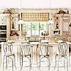 Пошив штор для светлой кухни, фото 2