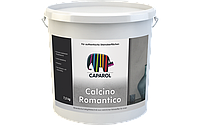Мелкозернистая минеральная декоративная шпатлевка Capadecor Calcino Romantico (тонируется) 7,5 кг, фото 1
