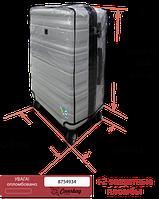Чехол на средний чемодан из ПВХ Coverbag прозрачный, фото 1