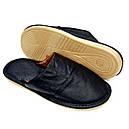 Кожаные тапочки мужские 42, фото 2