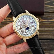 Часы мужские наручные Patek Philippe Grand Complications 6002 Sky Moon Black-Gold-White Реплика ААА класса, фото 3