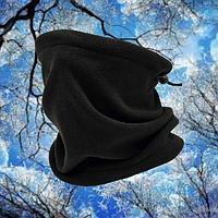Бафф шарф труба черный 3в1, фото 1