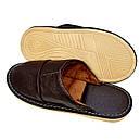 Кожаные тапочки мужские 42, фото 5