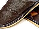 Кожаные тапочки мужские 42, фото 3