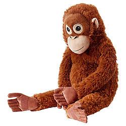 М'яка іграшка IKEA DJUNGELSKOG орангутан 66 см 004.028.08