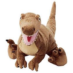 М'яка іграшка IKEA JATTELIK динозавр/велоцираптор (504.711.73)