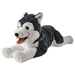 М'яка іграшка собака хаскі IKEA LIVLIG 57 см 402.979.90