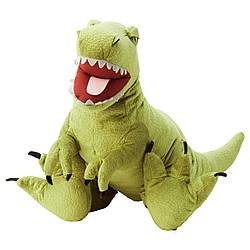 М'яка іграшка IKEA JATTELIK динозавр тиранозавр Рекс 66 см (104.711.70)