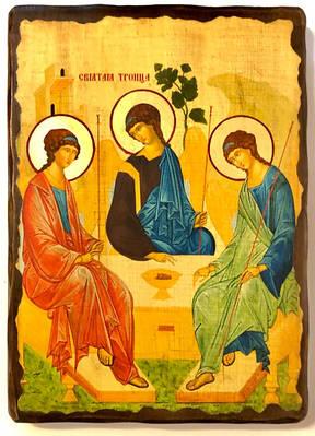 Ікони на дереві (під старовину, різьблені)