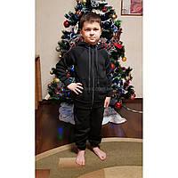 Костюм спортивный утеплённый подростковый черный. Спортивная утеплённая подростковая одежда