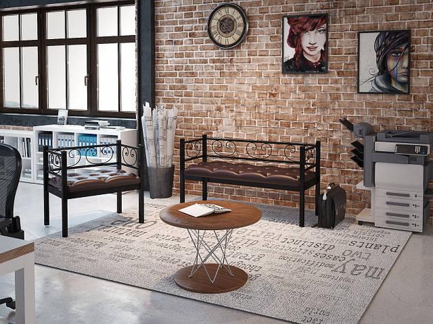 Комплект кресло + диван 3-й Грин Трик, фото 2