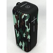 Портативная беспроводная стерео колонка Hopestar P15 c Bluetooth, USB и MicroSD Камуфляж