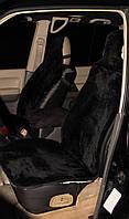 Меховые накидки для автомобильного кресла , черный 100%
