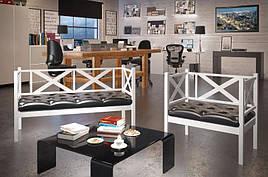 Комплект кресло + диван 3-й Грин Трик Лофт