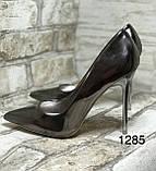 Женские туфли, туфли на выпускной ,серебро, фото 7