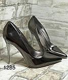 Женские туфли, туфли на выпускной ,серебро, фото 6