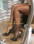 Женские туфли, туфли на выпускной ,серебро, фото 9