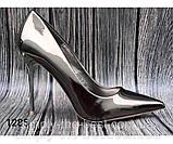 Женские туфли, туфли на выпускной ,серебро, фото 5