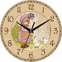 Настінні Годинники Vintage Пасторальний Сюжет